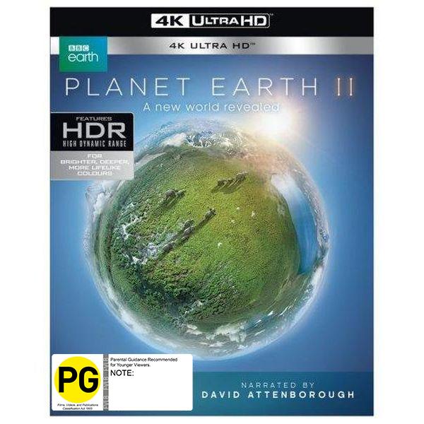Planet Earth II on UHD Blu-ray image