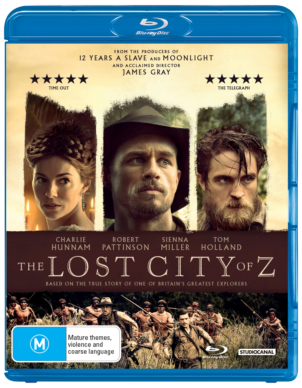 The Lost City Of Z on Blu-ray image