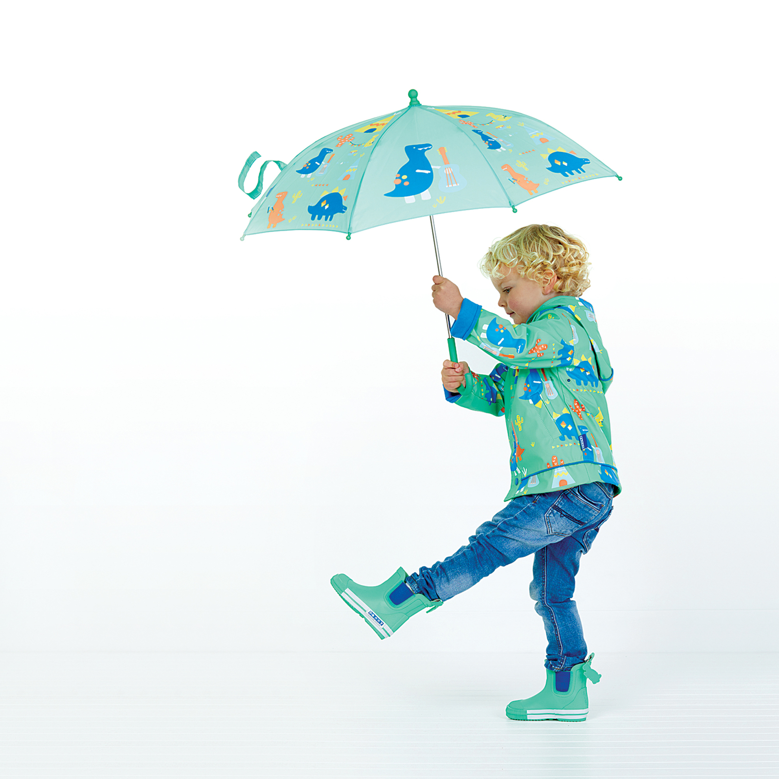 Raincoat Dino Rock - Size 3-4 image