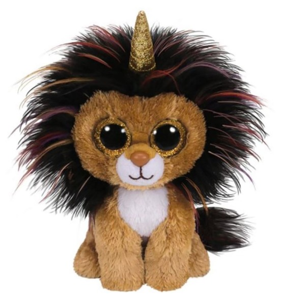 Ty Beanie Boo: Ramsey Lion - Small Plush image