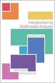 Introduction to Multimodal Analysis by David MacHin