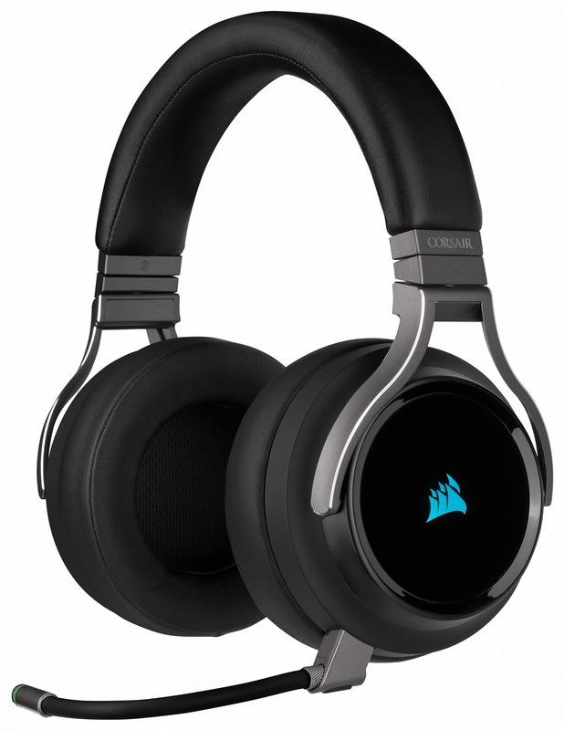 Corsair Virtuoso RGB Wireless Gaming Headset (Black) for PC