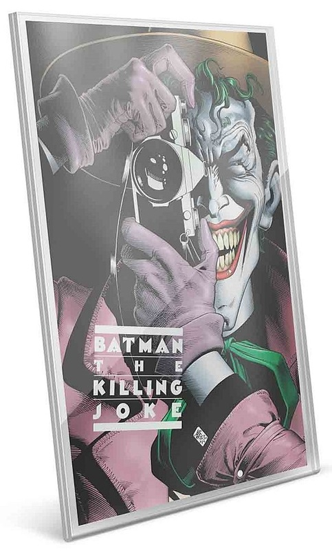 NZ Mint: DC Comics - Pure Silver Foil - Batman: The Killing Joke (35g)