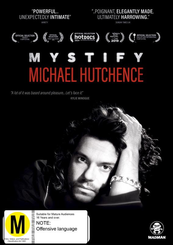 Mystify Michael Hutchence on DVD
