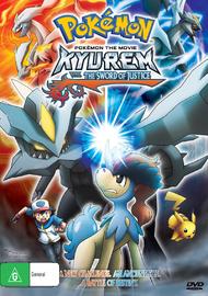 Pokemon - Movie 15: Kyurem vs. The Sword of Justice on DVD