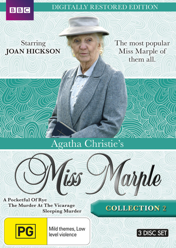 Agatha Christie's Miss Marple - Collection 2 (Restored Edition) on DVD