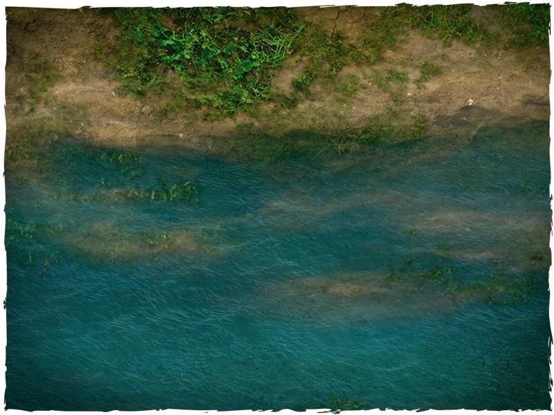 DeepCut Studios Clear River Neoprene Tiles Set image