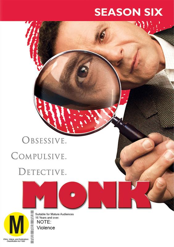 Monk - Season Six on DVD