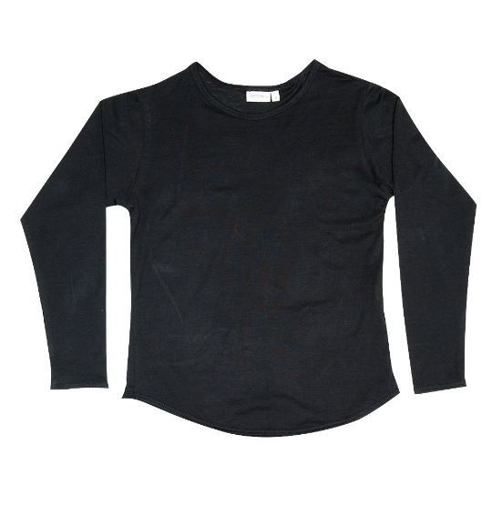 Zuttion Kids: L/S Organic Tee Charcoal - 6
