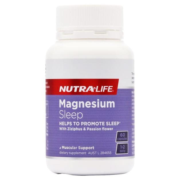 Nutra Life: Magnesium Sleep+ (60 Caps)