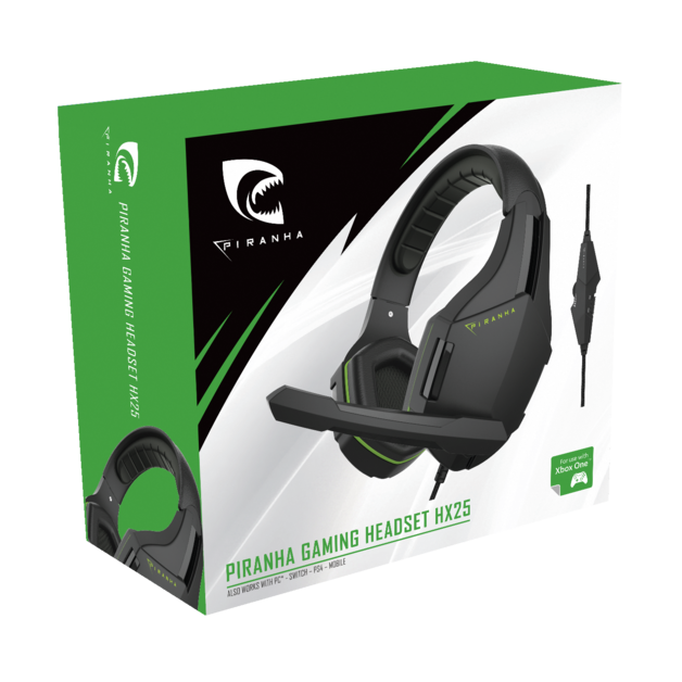 Piranha HX25 Gaming headset for Xbox One