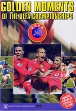 Golden Moments Of UEFA Championships on DVD