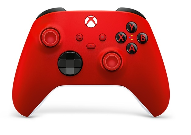 Xbox Wireless Controller - Pulse Red for Xbox Series X