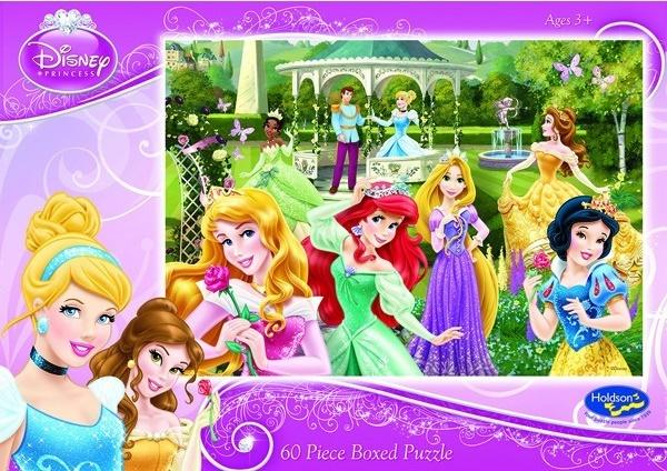 Holdson: 60pce Puzzles - Disney Princess Dare to Dream