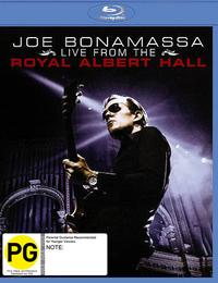 Joe Bonamassa: Live At The Royal Albert Hall on Blu-ray