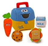 Sesame Street: Cookie Monster's Lunch Box Plush Playset