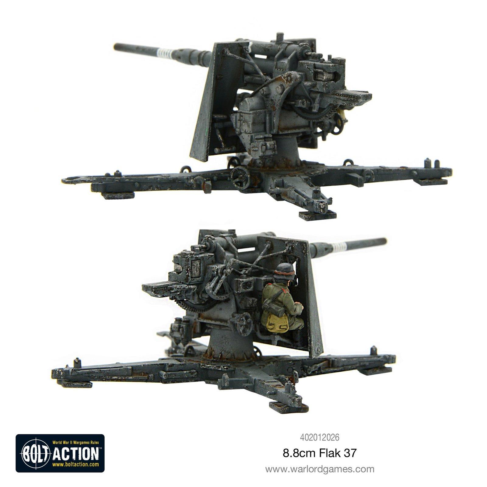 Bolt Action: German Flak 37 8.8cm image