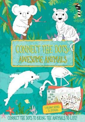 Connect the Dots: Awesome Animals by Courtney Acampora image