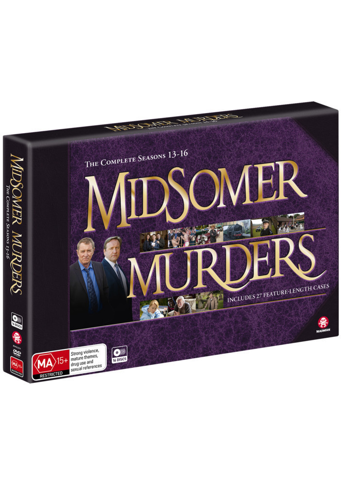 Midsomer Murders - Season 13 - 16 Collection (Limited Edition) on DVD image