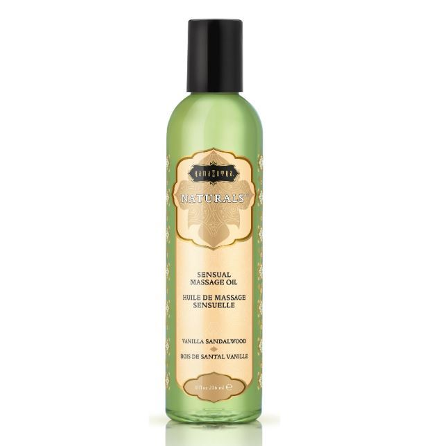 Kama Sutra Naturals Massage Oil Vanilla Sandalwood (200ml)
