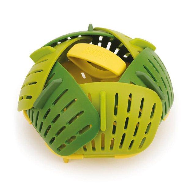 Joseph Joseph: Bloom Folding Steamer Basket - Green