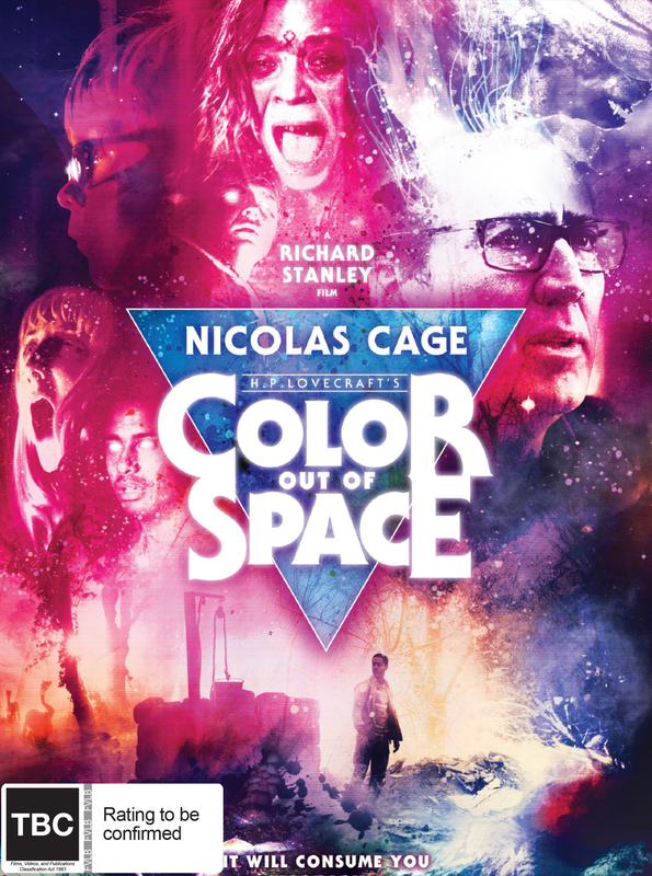 Color Out of Space on Blu-ray