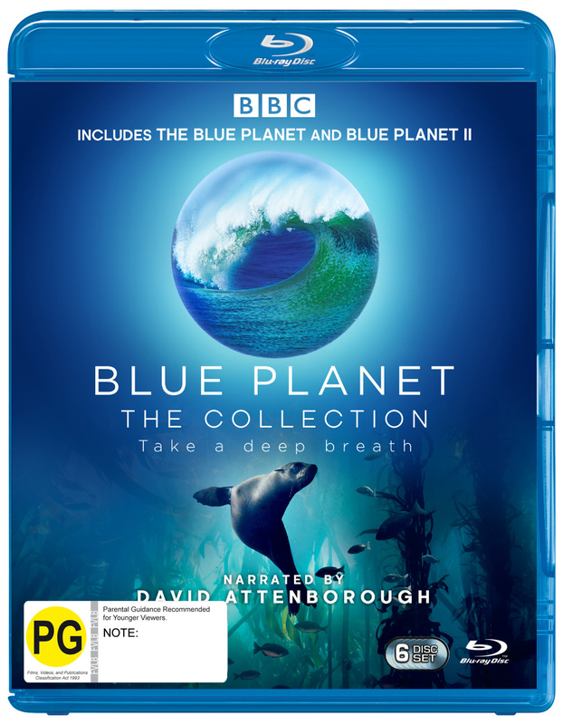 Blue Planet The Collection on Blu-ray