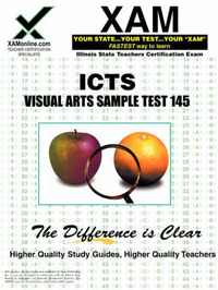 Ilts Visual Arts Sample Test 145 Teacher Certification Test Prep Study Guide by Sharon A Wynne