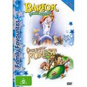 Bartok The Magnificent / Once Upon A Forest - Family Favourites (2 Disc Set) on DVD