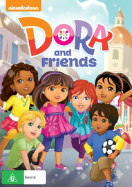 Dora And Friends on DVD image