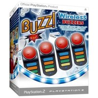 PlayStation Wireless Buzzers (PS2 and PS3 Compatible) for PS3