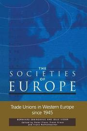 Trade Unions in Western Europe since 1945 by J. Visser