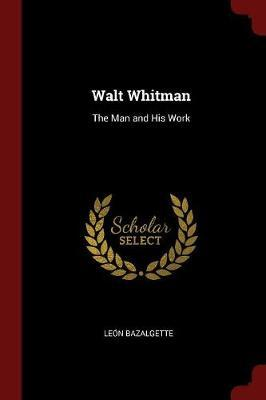 Walt Whitman by Leon Bazalgette image