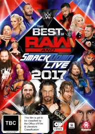 WWE: Best Of Raw & Smackdown 2017 on DVD