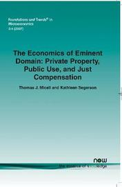 The Economics of Eminent Domain by Kathleen Segerson image