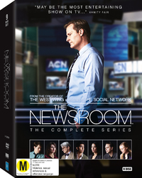 Newsroom - The Complete Series 1-3 on DVD