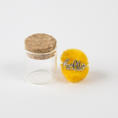 Natural Life: Wire Ring - Hello Yellow