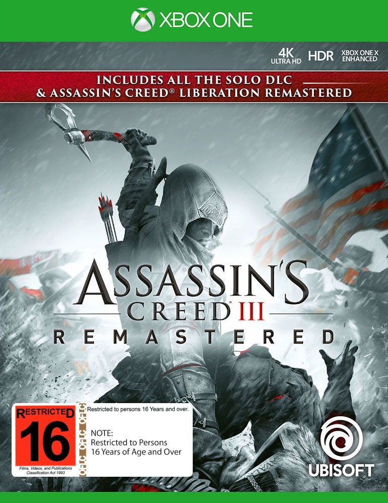 Assassin's Creed III Remastered for Xbox One image