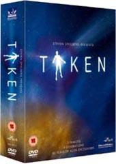 Taken - Steven Spielberg on DVD