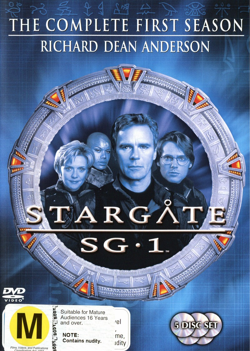 Stargate SG-1 - Season 1 (5 Disc Set) (New Packaging) on DVD image