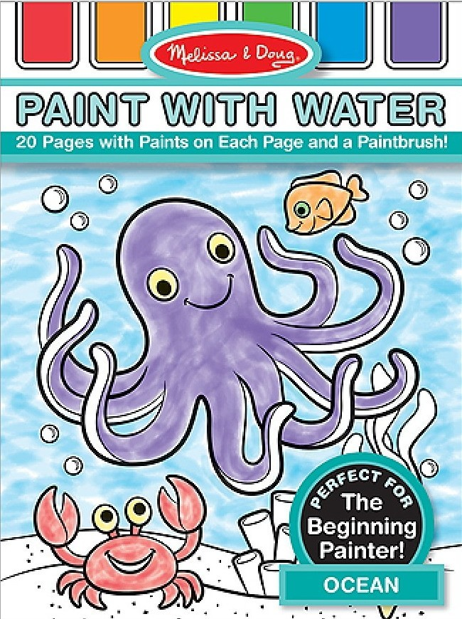 Melissa & Doug: Ocean Paint With Water Kids' Art Pad image