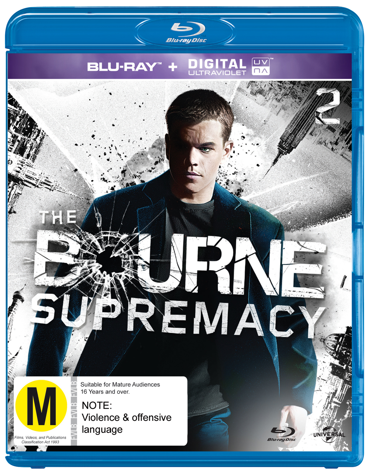 The Bourne Supremacy on Blu-ray image