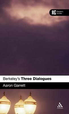 "Berkeley's ""Three Dialogues"" by Aaron Garrett image"