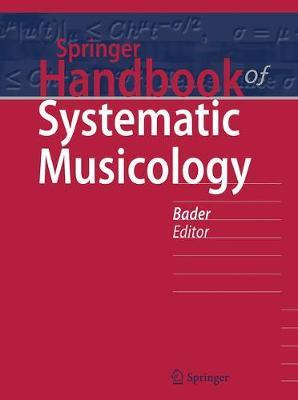 Springer Handbook of Systematic Musicology image