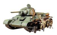 "Tamiya 1/35 Russian T34/76 ""ChTZ Version"" - Model Kit image"