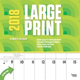 Large Print 2018 Square Wall Calendar by Inc Browntrout Publishers