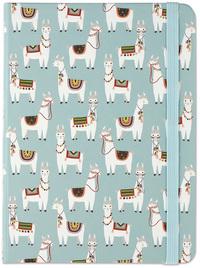 Peter Pauper Medium Journal - Llamas