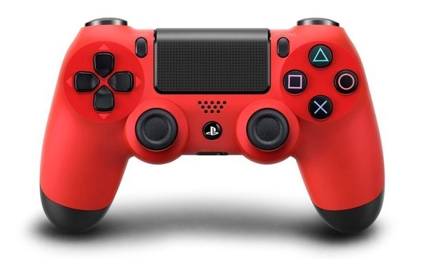 PlayStation 4 Dual Shock 4 Wireless Controller - Magma Red for PS4 image