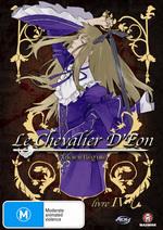 Le Chevalier D'Eon - Livre 4: Ancien Regime on DVD