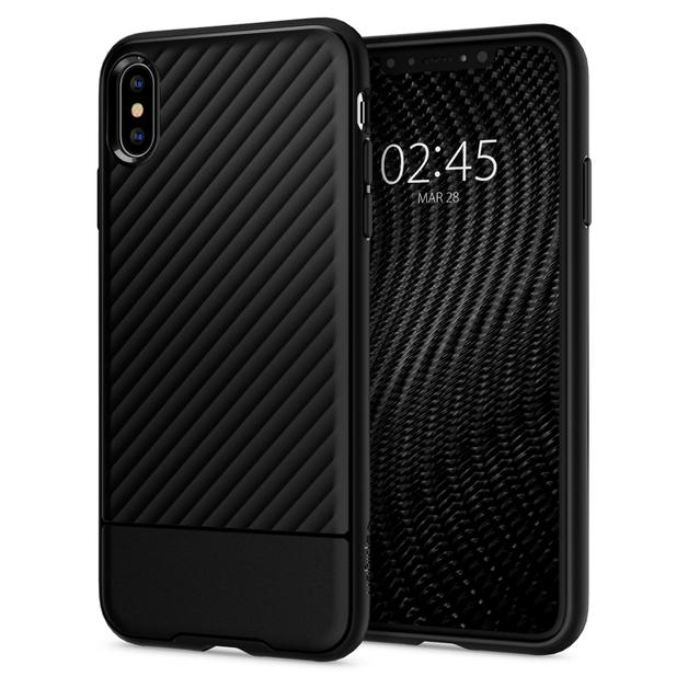 Spigen: Core Armor Case for iPhone XS Max - Black